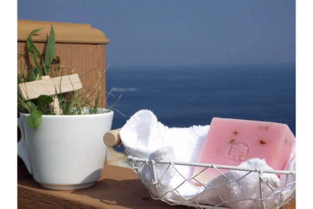 夏におすすめの手作り石鹸材料